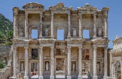 Celsus Library at Ephesus, Gallipoli and Troy tours from Istanbul