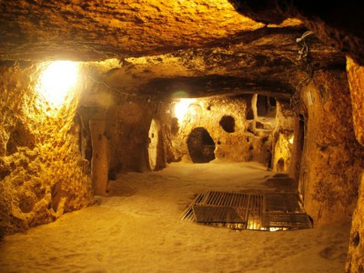 Cappadocia : Kaymakli underground city