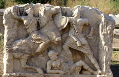 Temple of Hadrian in Ephesus