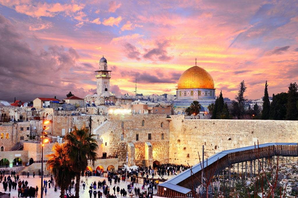 jerusalem skyline, Israel tours