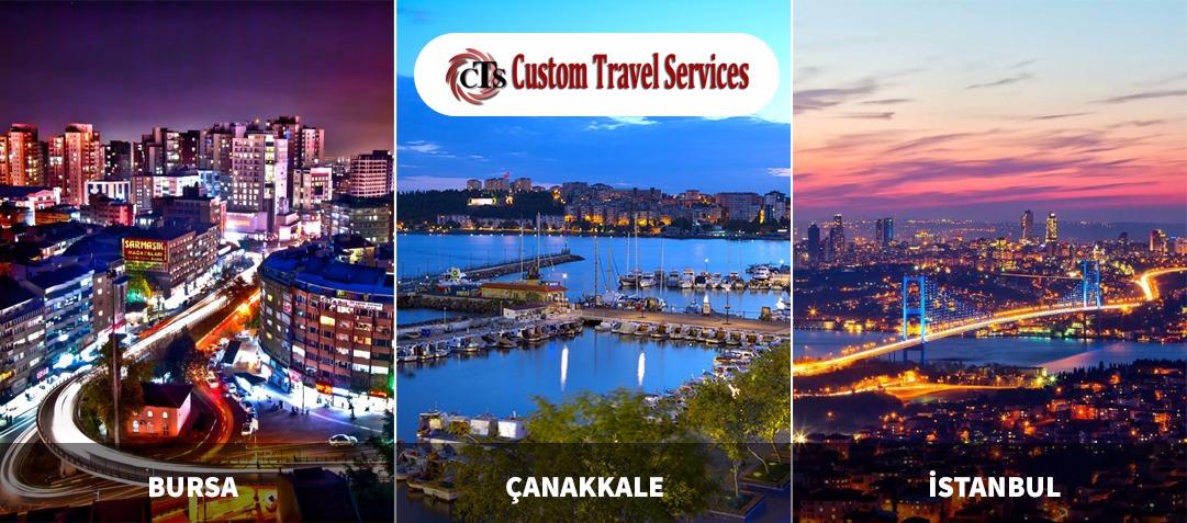 Bursa İstanbul Çanakkale Turkey tours